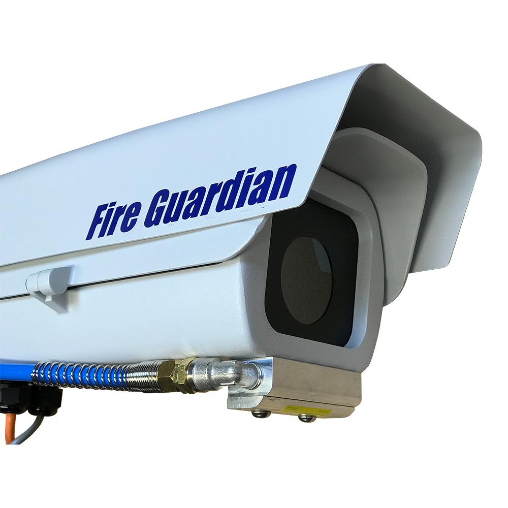 Fire guardian thermal imaging camera close-up